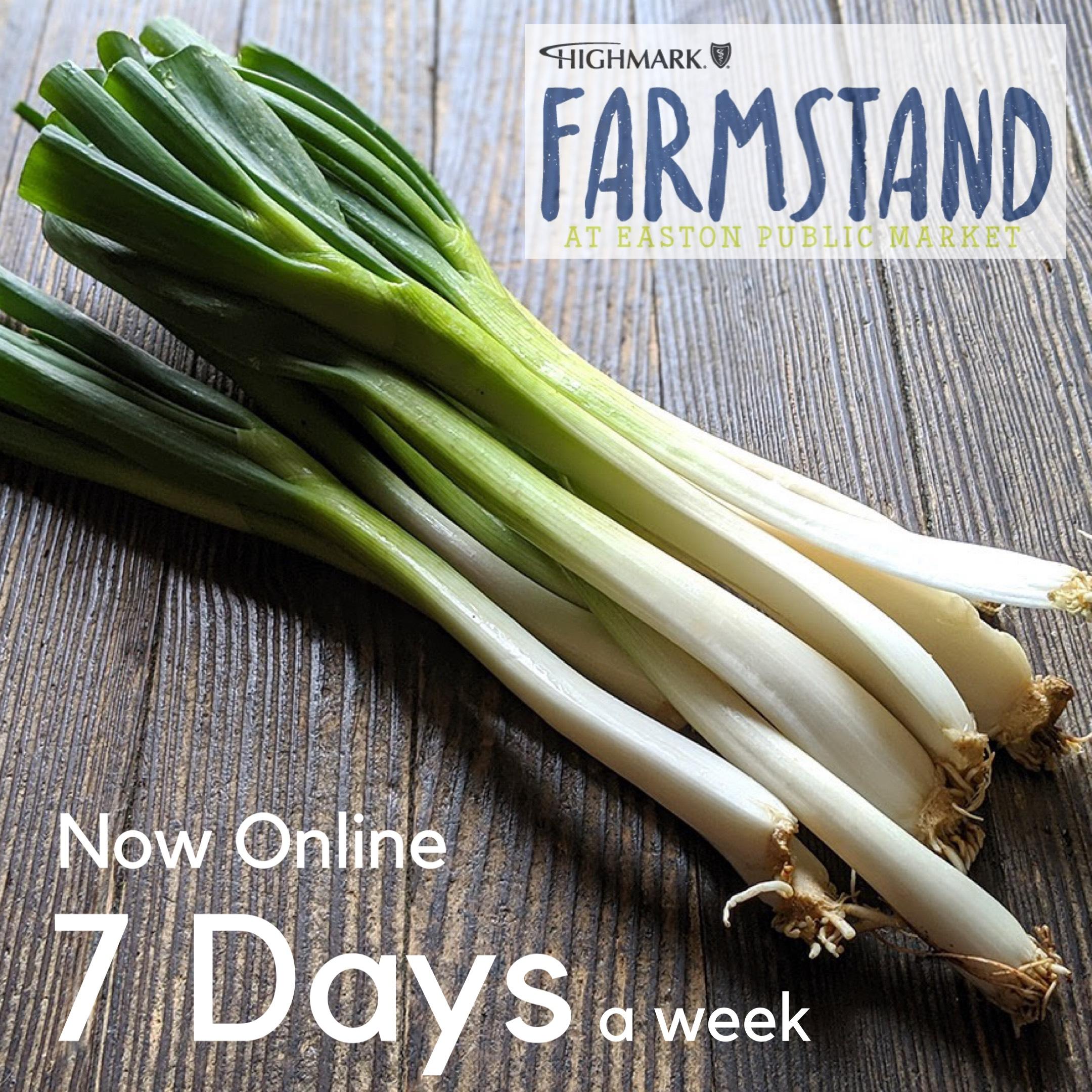 Farmstand – Open 7 Days a Week