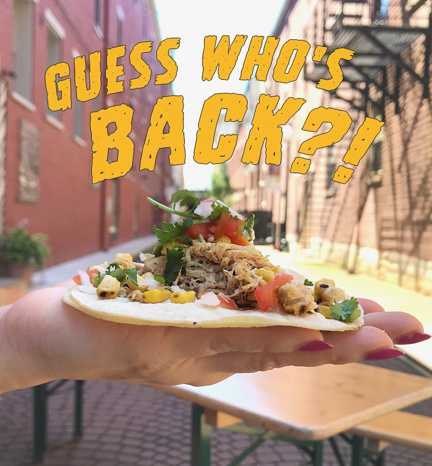 Taylor Taco Shop Returns to Curbside Pickup